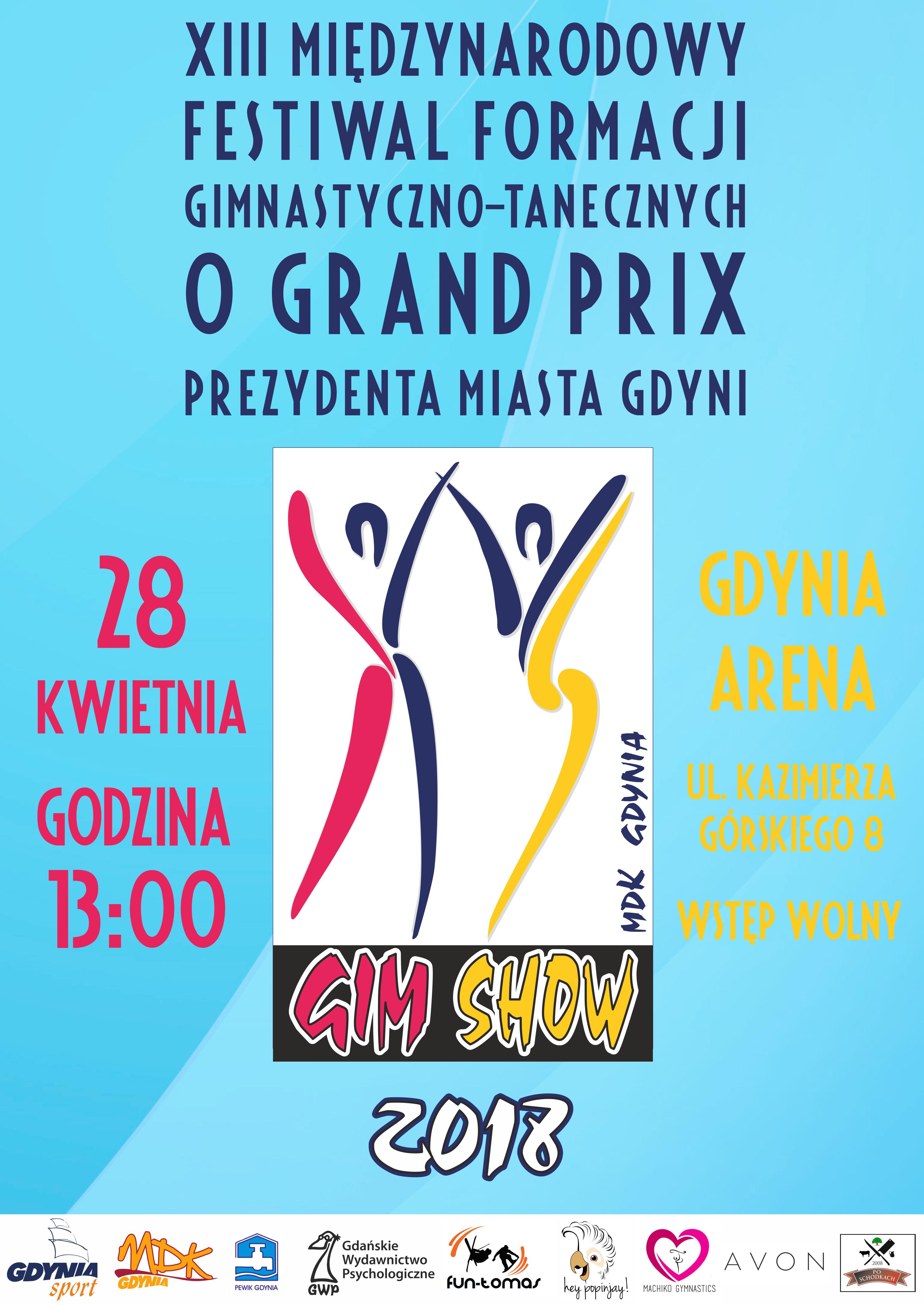 Chłodny Młodzieżowy Dom Kultury Gdynia - Gim Show 2018! BH03